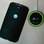 Nexus6でQiを その2(Aukey)