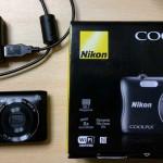 ニコン COOLPIX S3700 購入。想像していたより小さく軽かった。