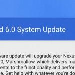 Nexus6 を Android 6.0 Marshmallow「MRA58K」へアップデート完了