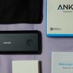 「Anker PowerCore+ 10050」を購入してみた:入出力ともQC2.0対応のモバイルバッテリー